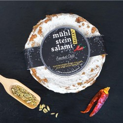 Mühlsteinsalami Fenchel Chili