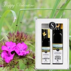 Valentinstag Geschenkbox-Leinotter-Sonnenblumenöl by Candarila