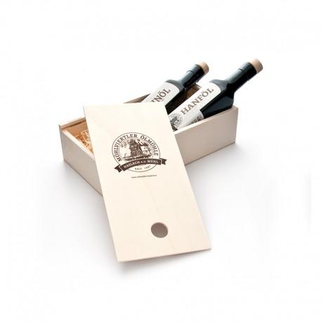 Geschenkbox Holz Hanföl