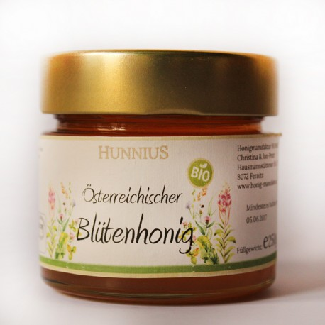 Bio Blütenhonig aus der Steiermark by Candarila