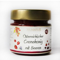 Bio Cremehonig mit Beeren aus der Steiermark by Candarila