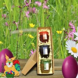 Weinviertler Osternest aus Bio Heidelbeer, Himbeer & Kiwi by Candarila