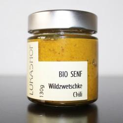 Bio Senf Wildzwetschke Chili aus der Weststeiermark by Candarila
