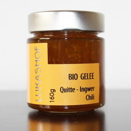 Bio Gelee Quitte-Ingwer Chili aus der Weststeiermark by Candarila