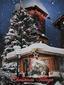 Christmas Village mit tollen Weihnachtsgeschenken