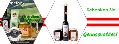 Kulinarische Geschenke aus Österreich
